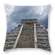 Chichen Itza 7 Throw Pillow