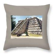 Chichen Itza Mexico 4 Throw Pillow