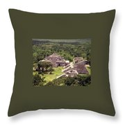 Chichen Itza Throw Pillow