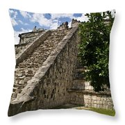 Chichen Itza Pyrmid 1 Throw Pillow