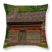 Chickamauga No 4 Throw Pillow