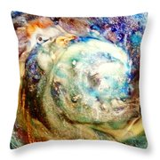 Chicken And The Egg Throw Pillow