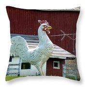 Chicken Anyone? Throw Pillow