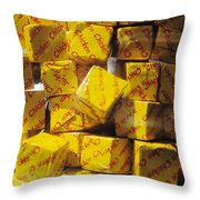 Chicken Cubes Throw Pillow