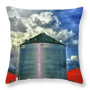 Chicken Feed Other Worldly Sky Art Throw Pillow