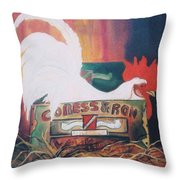 Chicken Little Throw Pillow
