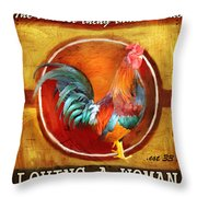Chicken Little Throw Pillow