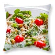 Chicken Pasta Salad Throw Pillow