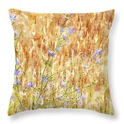 Chickory N Wheat W C Throw Pillow
