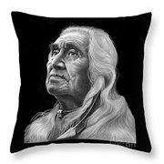 Chief Dan George Throw Pillow