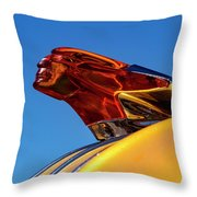 Chief Flying Cloud Throw Pillow