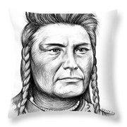 Chief Joseph Throw Pillow