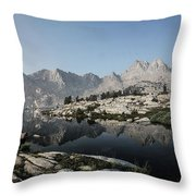 Chief Lake Throw Pillow