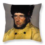Chief Lifeboatman Lars Kruse Throw Pillow