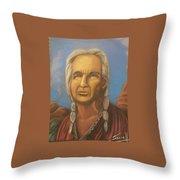 Chiefly Wisdom Throw Pillow