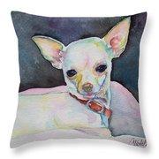Chihauhau Puppy Throw Pillow