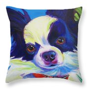 Chihuahua - Esso-gomez Throw Pillow by Alicia VanNoy Call