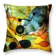 Chihuly's Ceiling Throw Pillow