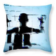 Child In A Fractured World Throw Pillow