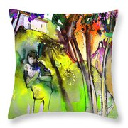 Child Kidnapping In Garrucha Part 2 Throw Pillow