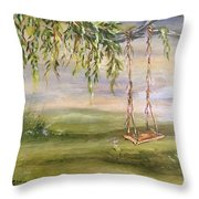 Childhood Memories Throw Pillow
