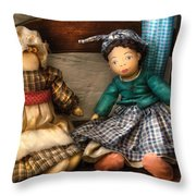 Children - Toys -  Dolls Americana  Throw Pillow