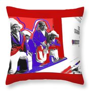 Children Dressed As Founding Fathers 2   Bi-centennial Of The Constitution Tucson Arizona Throw Pillow