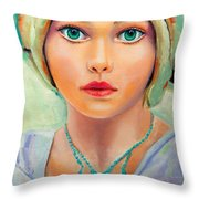 Children Of The World_russia Throw Pillow