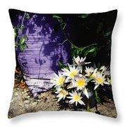 Children's Lotus Boquet Throw Pillow