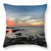 Children's Pool At La Jolla Cove  Throw Pillow