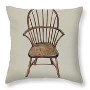 Child's Arm Chair Throw Pillow