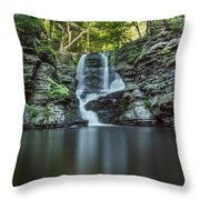 Child's Park Waterfall 2 Throw Pillow