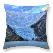 Chilean Fjords Chile Throw Pillow