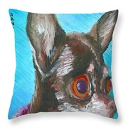 Chili Chihuahua Throw Pillow