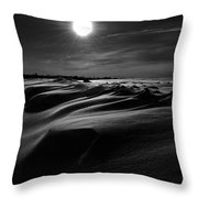 Chills Of Comfort Throw Pillow by Empty Wall