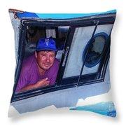 Chiloe Fisherman Throw Pillow