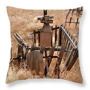 Chimayo Cemetery Throw Pillow