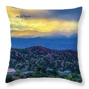 Chimayo Rains Throw Pillow