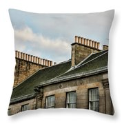 Chimney Architecture Throw Pillow