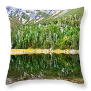 Chimney Pond Reflections 2 Throw Pillow