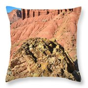 Chimney Rock II Throw Pillow