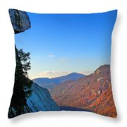 Chimney Rock  2 Throw Pillow