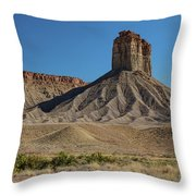 Chimney Rock Towaoc Colorado Throw Pillow