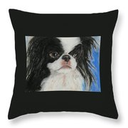 Chin-sational Throw Pillow