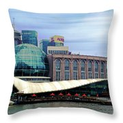 China 35 Throw Pillow