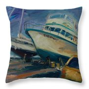 China Basin Throw Pillow