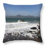 China Beach  Throw Pillow