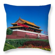 China, Beijing Throw Pillow