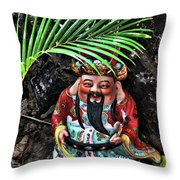 China Boat Gnome Throw Pillow