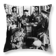 China: Boxer Trial, C1900 Throw Pillow